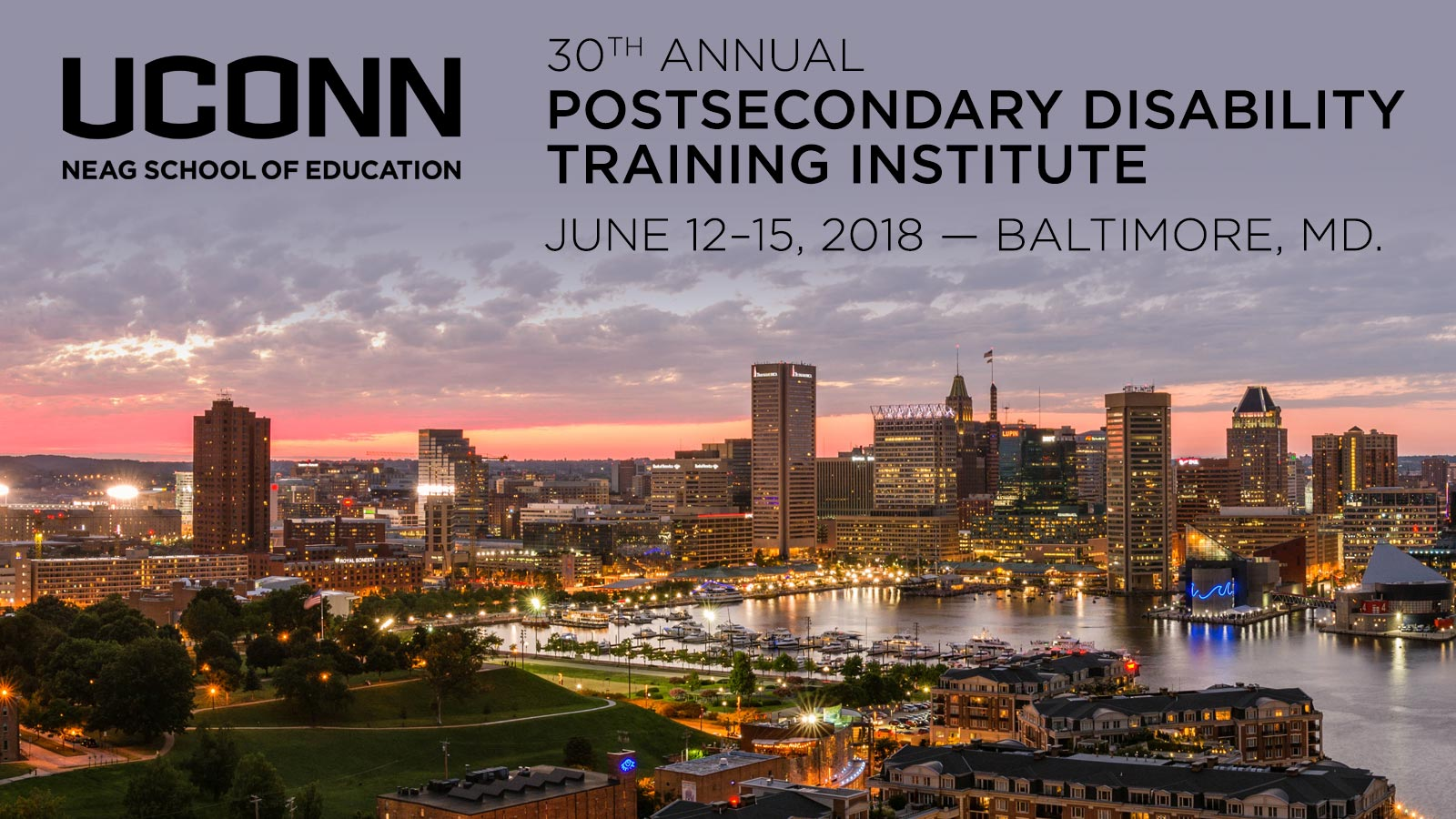 PTI 2018: June 12-15, 2018 in Baltimore, Maryland